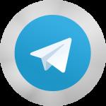 لوگو گرد تلگرام