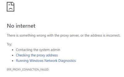 قطع بودن اینترنت