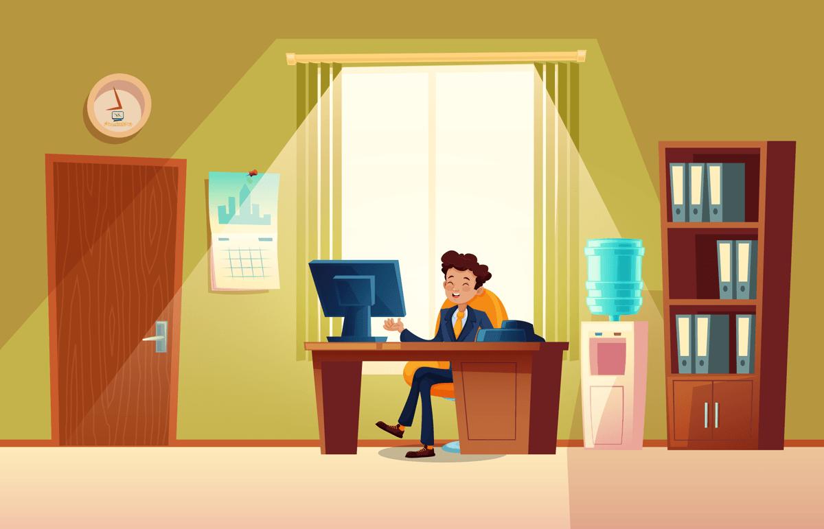 دفتر کار شما بعد از دوره