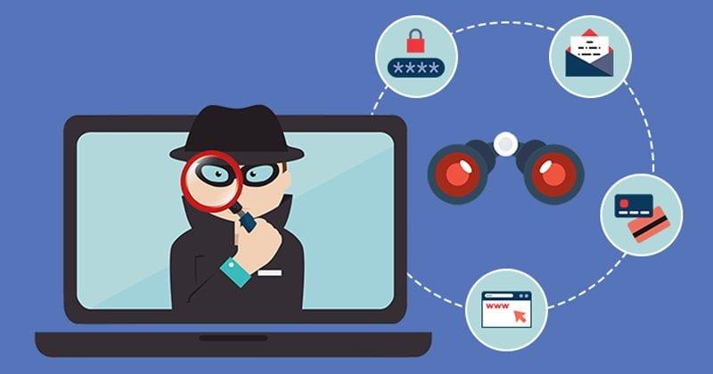جاسوس افزارها یکی از انواع بدافزارها