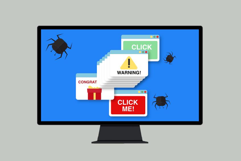 Adware یکی از انواع بدافزارها