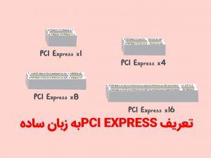 تعریف PCI EXPRESSبه زبان ساده