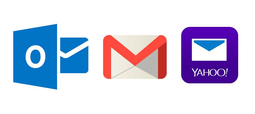 سرویس های ایمیل